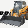 Skid Steer With 4n1 Bucket Attachment