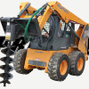 Skid Steer With Prowler Auger Drive