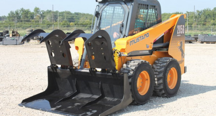 Skid Steer Heavy Duty Demo Grapple Bucket