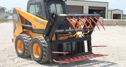 Skid Steer HD Silage Grapple