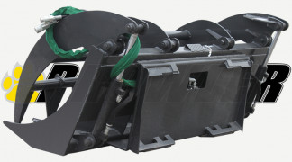 Grapple Rake Rear View