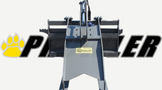 Pallet Fork Grapple Front View