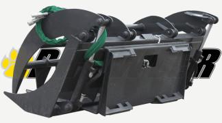 Root Rake Grapple Rear View