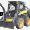 Skid Steer Loader Equipped With Boom