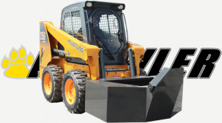 Cement Bucket On Skid Steer