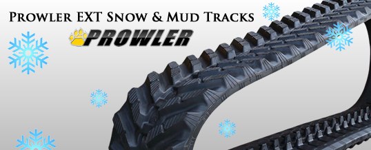 Prowler EXT Snow and Mud Rubber Tracks