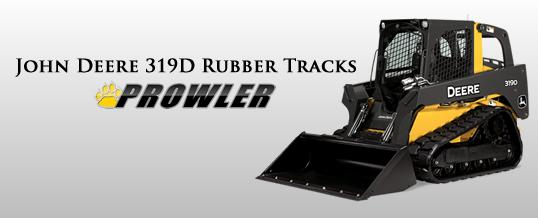 John Deere 319d Rubber Track Sales