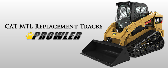 Top Rated Rubber Tracks For CAT Terrain Loaders
