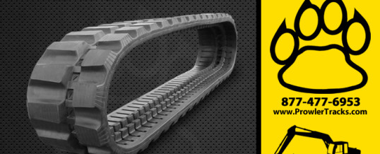 300mm Width 55.5mm Pitch Rubber Track