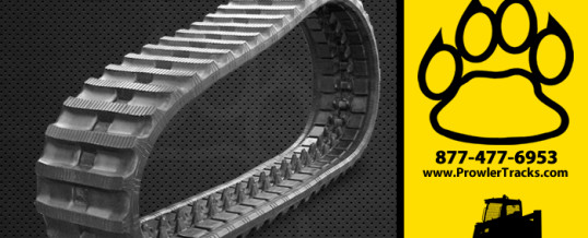 300mm Width 86mm Pitch Rubber Track