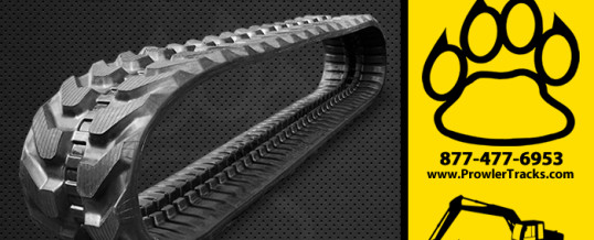 300mm Width 52.5mm Pitch Rubber Track