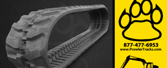 320mm Width 54mm Pitch Rubber Track