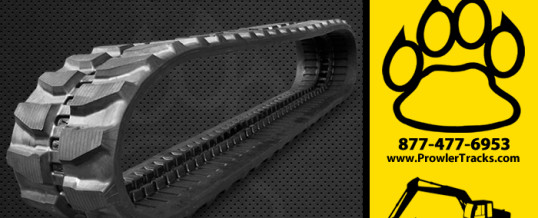 350mm Width 52.5mm Pitch Rubber Track