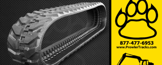 350mm Width 54.5mm Pitch Rubber Track
