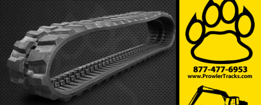 350mm Width 56mm Pitch Rubber Track