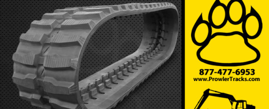400mm Width 107mm Pitch Rubber Track
