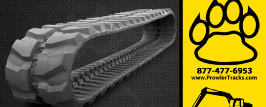 450mm Width 83.5mm Pitch Rubber Track