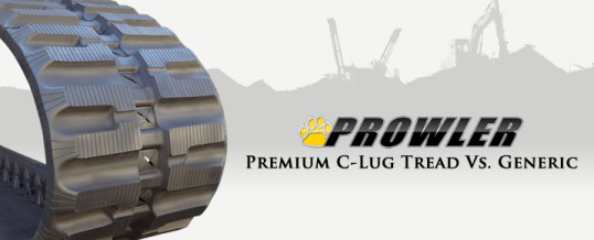 Premium Grade C Lug Rubber Tracks Vs. Generic Brands