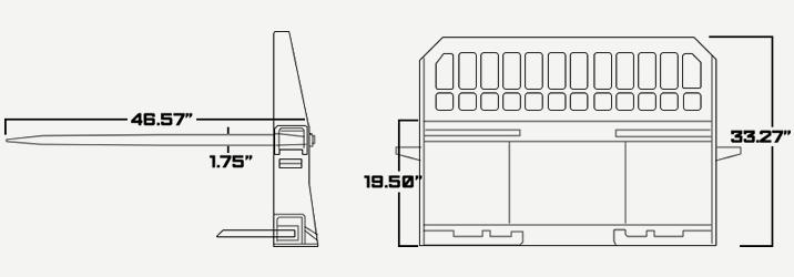 Hay Spear Size Diagram