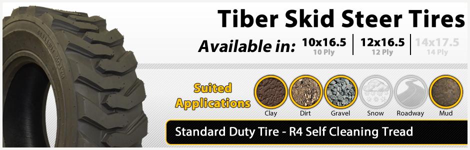 Tiber Standard Duty Skid Steer Tire