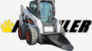 Bobcat Skid Steer Equipped With Tree Spade