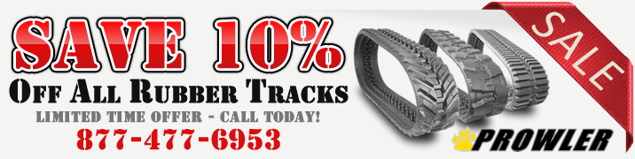 Save 10% Off Rubber Tracks