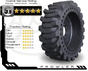 Prowler Proflex Solid Tire Rating