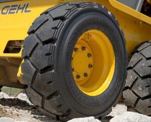 Ultra Guard LVT Tire on Skid Steer