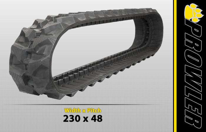 230x48 Rubber Track Tread Style