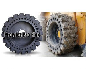 Solid Skid Steer Tires On Skid Steer