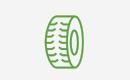 Increased Skid Steer Tire Protection