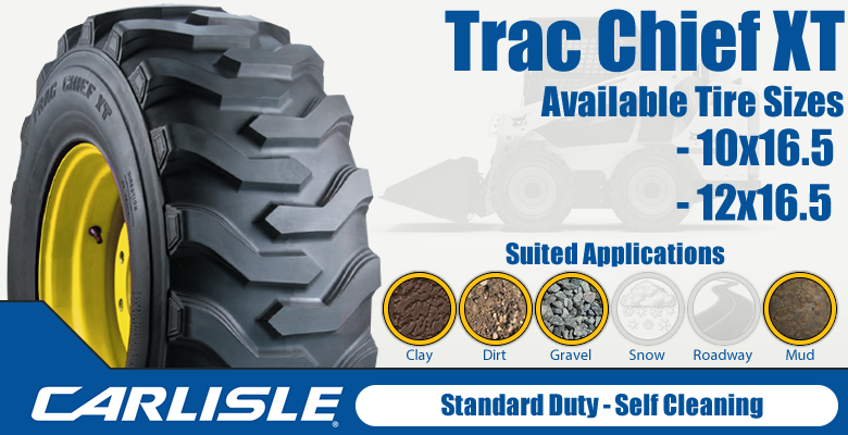 Carlisle Trac Chief XT Skid Steer Tires
