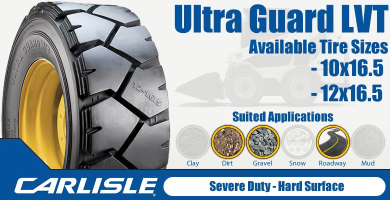 Carlisle Ultra Guard LVT Skid Steer Tires