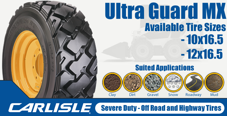 Carlisle Ultra Guard MX Skid Steer Tires