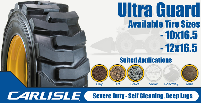Carlisle Ultra Guard Skid Steer Tires