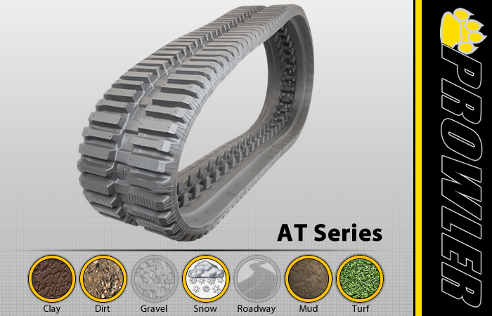 AT CTL Rubber Track Tread Design