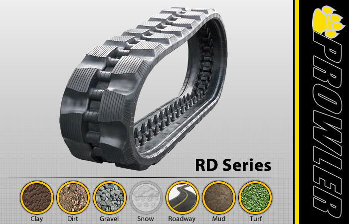 RD CTL Rubber Track Tread Design