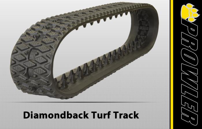 Prowler Diamondback Turf Rubber Track Tread Style
