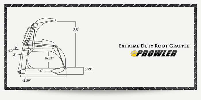 Extreme Duty Root Grapple Specs