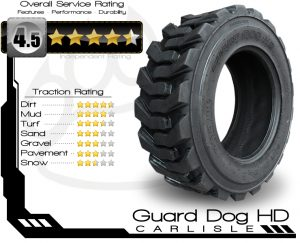 Guard Dog HD Skid Steer Tire Rating
