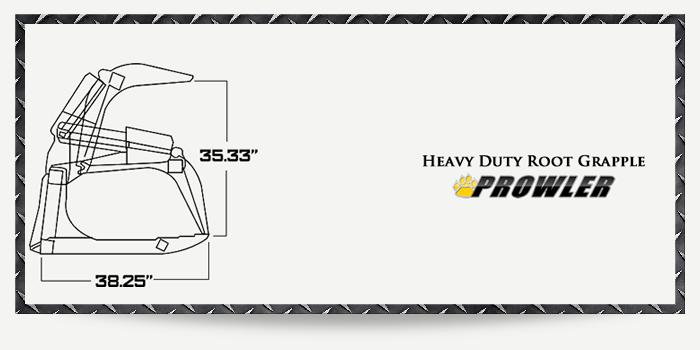 Heavy Duty Root Grapple Specs