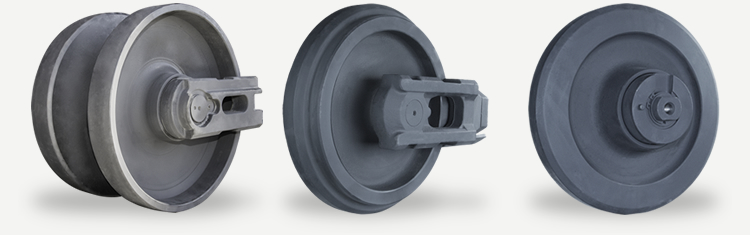 Front and Rear Idler Wheels