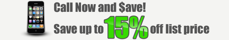 Save 15% Off