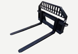 Universal Pallet Fork Attachment for Skid Steer and Tractors
