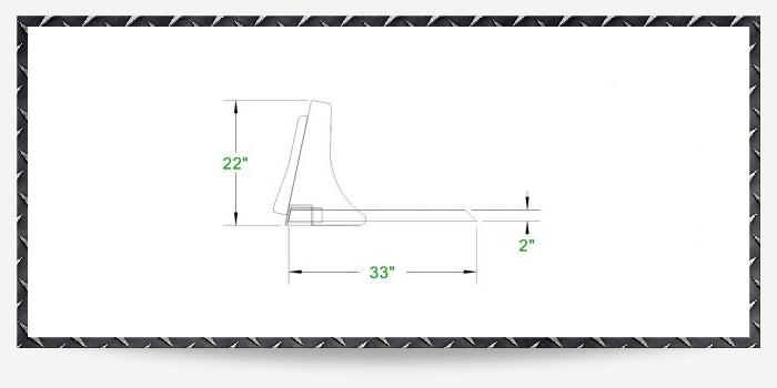 Skid Steer Manure Fork Specs