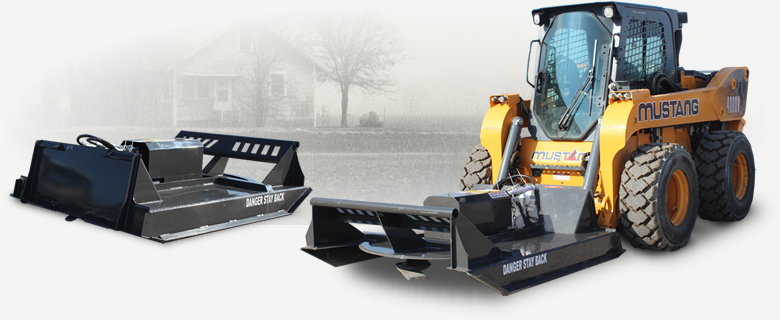 Skid Steer Brush Cutter Options