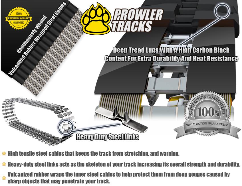 Premium Grade Rubber Track Design