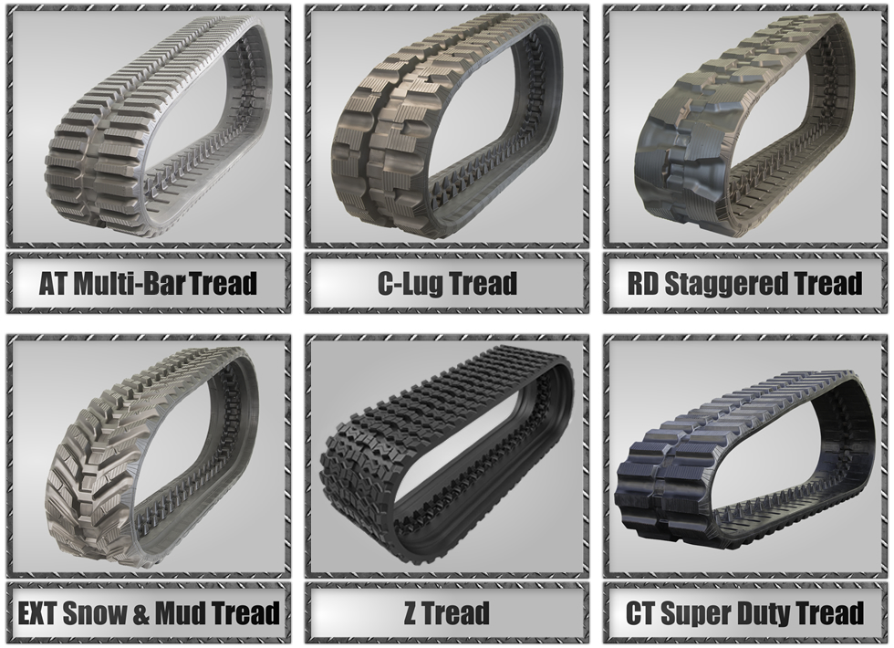 Prowler Compact Track Loader Tread Design Options