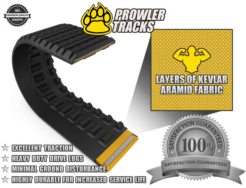 Premium Kevlar Aramid Rubber Track Design