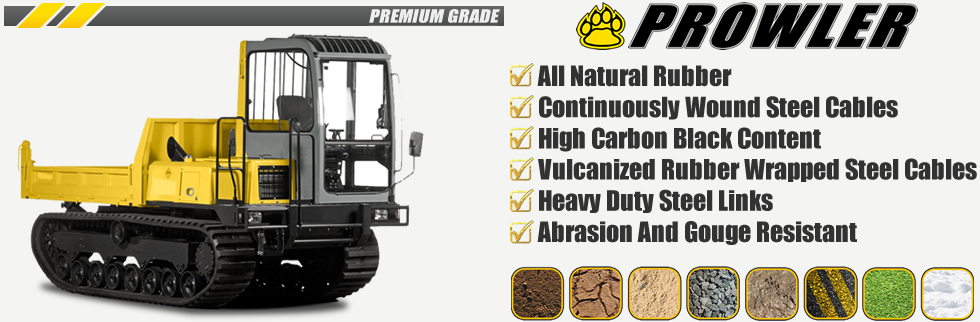 Prowler Carrier Dumper Rubber Tracks